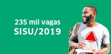 Primeira edição do Sisu 2019 deve abrir mais de 235 mil vagas